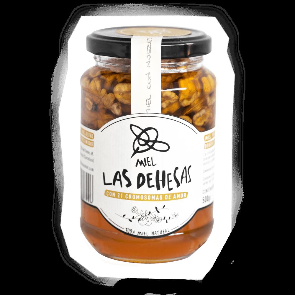 comprar miel con nueces